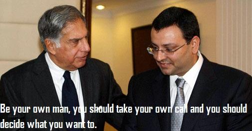 Ratan Tatas Advice To Cyrus Mistry
