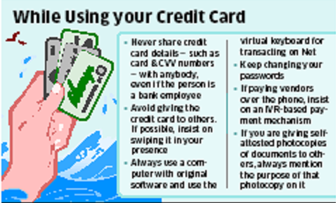 Saving Yourself from Credit Card Fraud