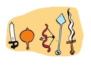 Mahabarata weapons