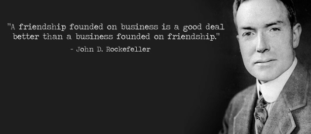 Business And Friendship