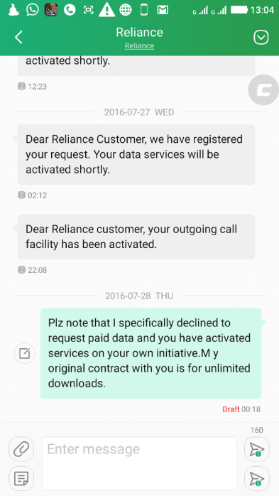 Wealthymatters Reliance 4G,review, complaints cheating scam
