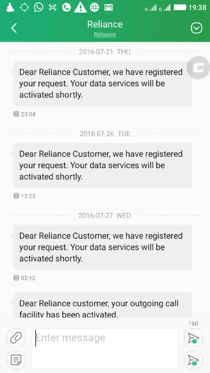 wealthymatters,Reliance,4G,cheating,complaints,scam