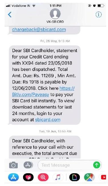 SBI Credit Cards-Caveat Emptor